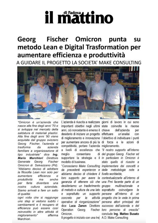 Gerog-Fischer-Omicron-metodo-lean-il-mattino-di-padova