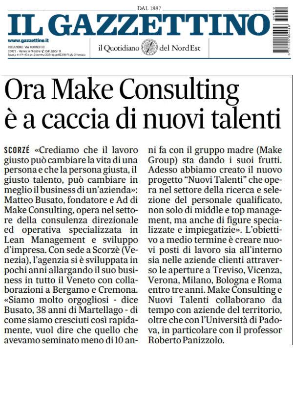 Make-consulting-ricerca-e-selezione-del-Personale-Il-Gazzettino