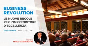 evento imprenditori Business Revolution