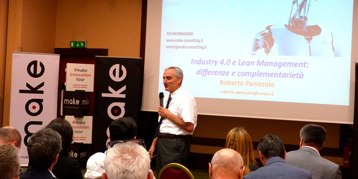 Prof. Roberto Panizzolo corso lean Manufacturing Innovation tour 2017