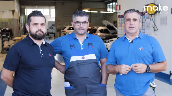 Carrozzeria Castellana- video testimonial consulenza Lean