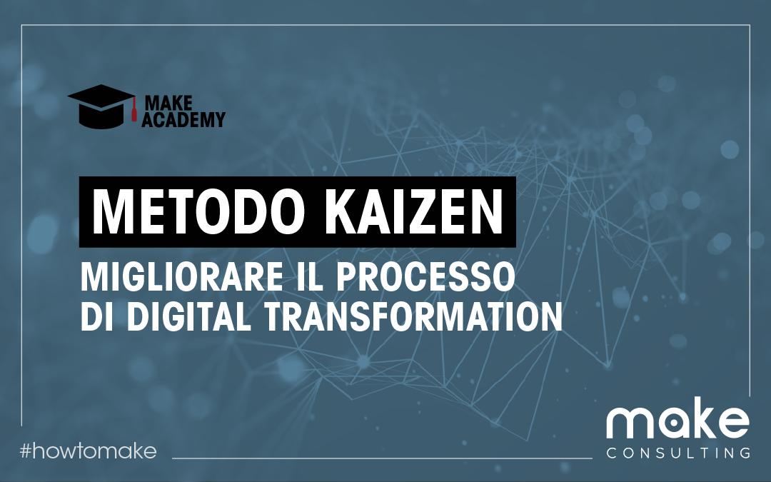 Come migliorare il processo di digital transformation con il Metodo Kaizen