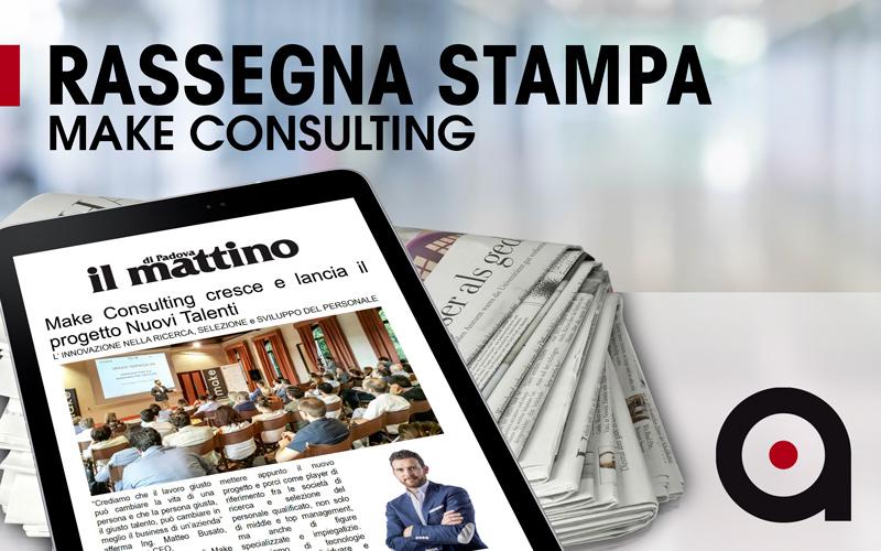 Nuovi-Talenti-Make-Consulting-su-Il-Mattino-Padova-cover