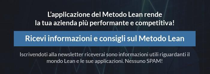ricevi informazioni e consigli sul Metodo Lean