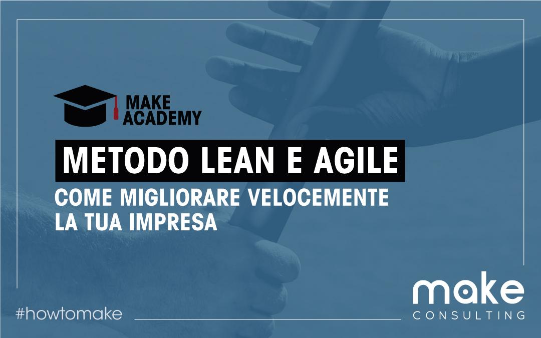 Metodo Lean e Agile