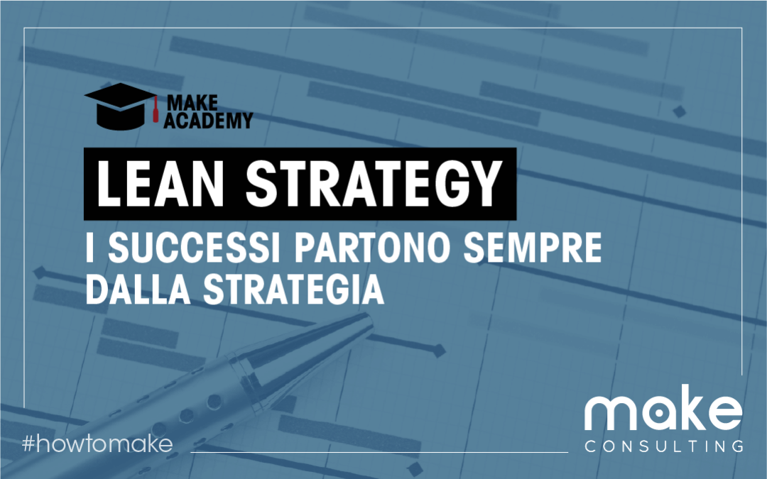 Lean Strategy: i successi partono sempre dalla strategia