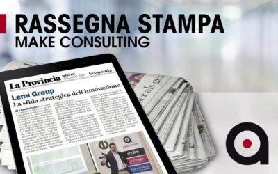 """Make Consulting su """"La Provincia di Cremona: Formazione Innovativa su Metodologia Lean"""