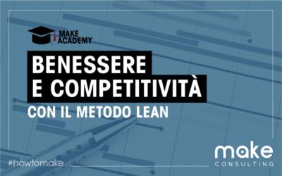 Benessere dei collaboratori e competitività con il metodo Lean