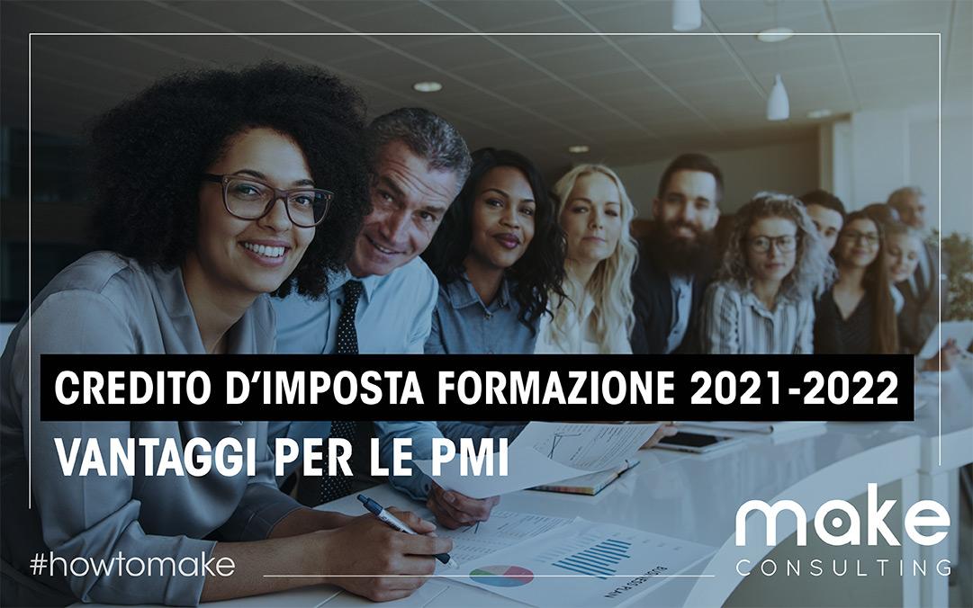 Credito d'imposta formazione 2021-2022: finanzia formazione e consulenza della tua PMI