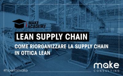 Lean Supply Chain: gestione snella della supply chain