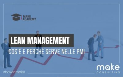 Lean Management: cos'è e perchè e serve nelle PMI