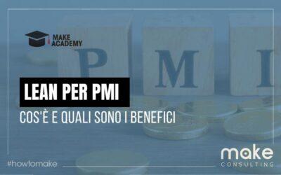 Lean per PMI: cos'è e quali sono i benefici