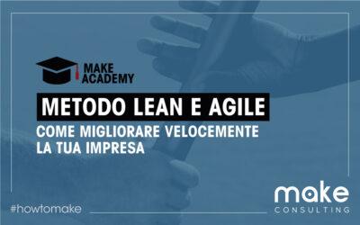 Lean Agile: migliora velocemente la tua impresa
