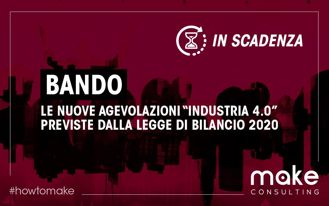 Piano nazionale Industria 4.0: Novità