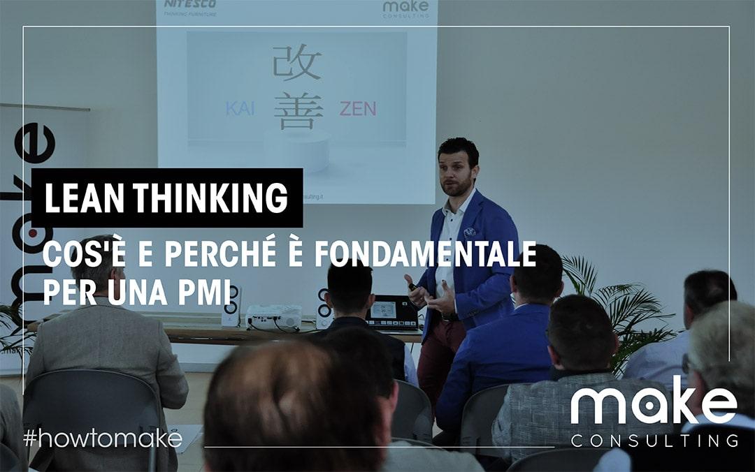 Lean thinking: cos'è e perché è fondamentale per una PMI