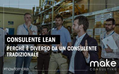 Consulente Lean: perché è diverso da un consulente aziendale tradizionale