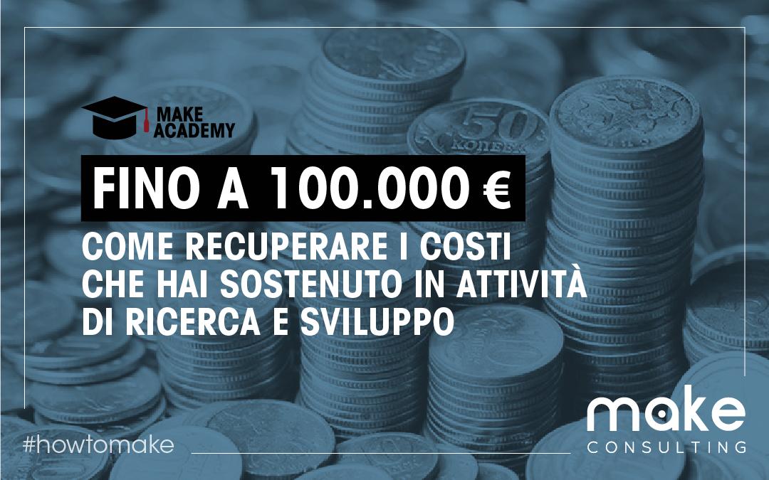 Come risparmiare da 15.000 a 100.000 Euro con lo strumento del Credito d'Imposta