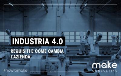 Industria 4.0 requisiti e come cambia l'azienda