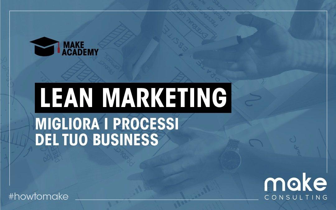 Come fare lean marketing: canvas e modelli
